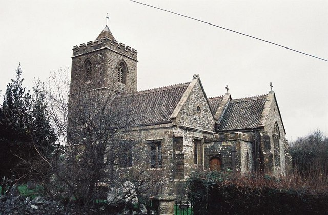 Hooke: parish church of St. Giles