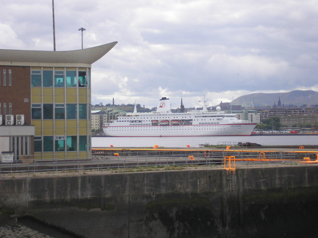 The Deutschland in Leith Docks
