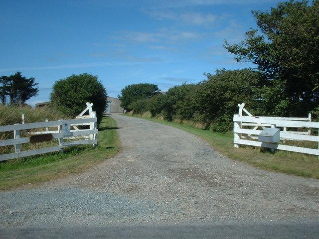 Entrance to Kiondroughad Farm