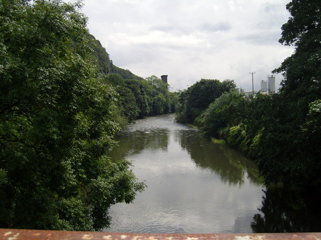 River Taff downstream