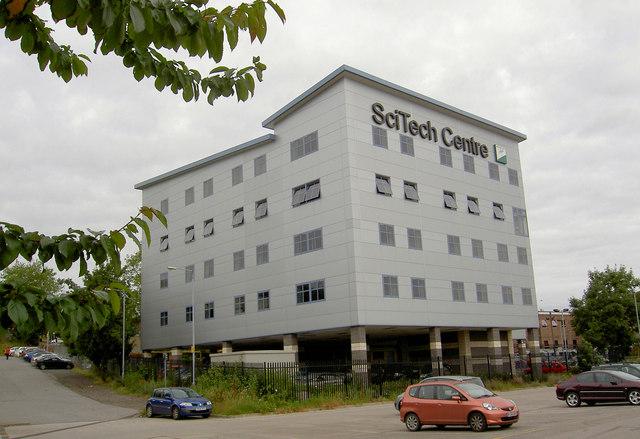 Barnsley college SciTech centre.