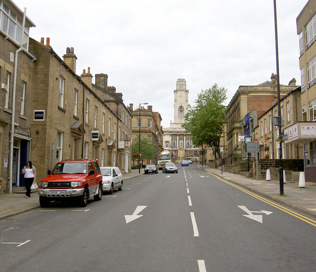 Town Hall from Regent Street.