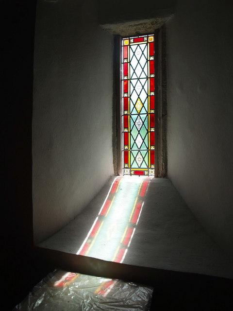 Window, Cookbury church