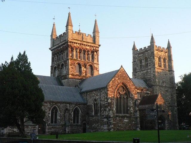 Wimborne Minster: parish and minster church of St. Cuthburga