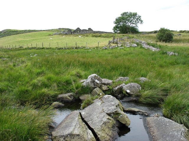 The ford to Muriau'r Gwyddel
