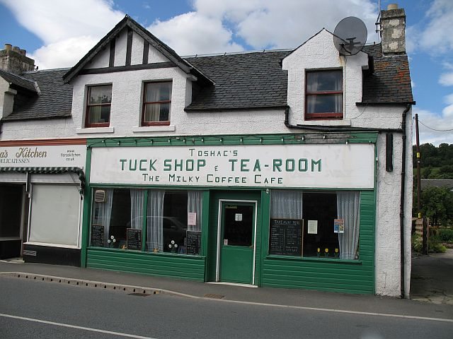 A Newtonmore caff