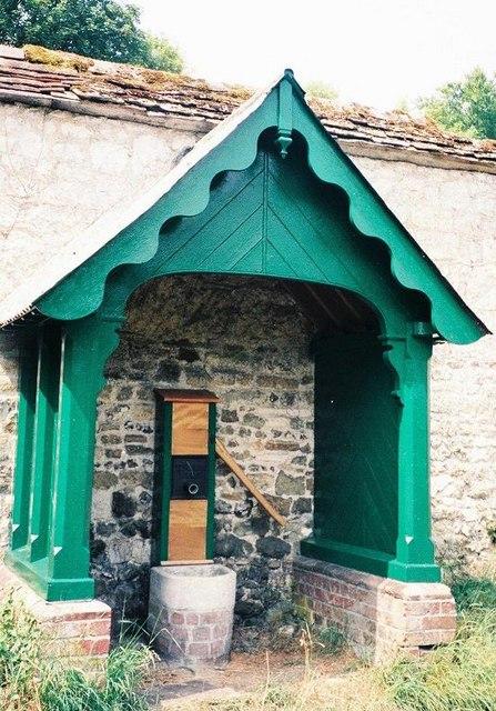 Iwerne Courtney or Shroton: village pump