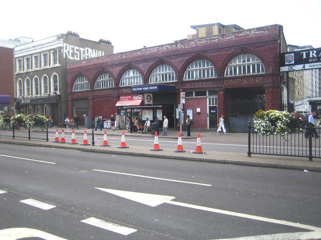 Holloway Road tube station