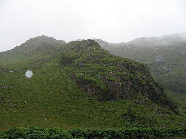 Crags above Kinloch Hourn
