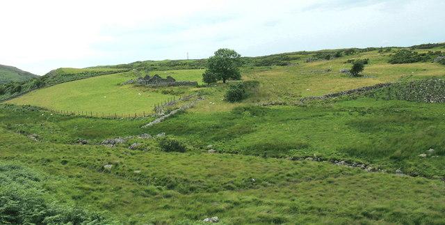 Agriculturally non-productive land  in Ceunant Geifr