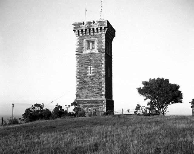 The Albert Tower, Ramsey, Isle of Man