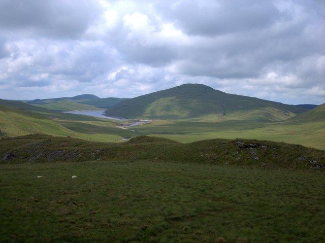 View from Banc Lluestnewydd