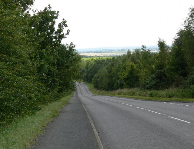 Cliffe Hill Road near Stanton under Bardon