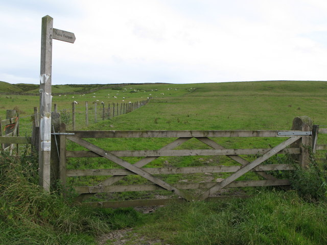 Footpath across Allenshields