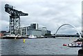 NS5765 : Finnieston Crane and Clyde Arc by Thomas Nugent