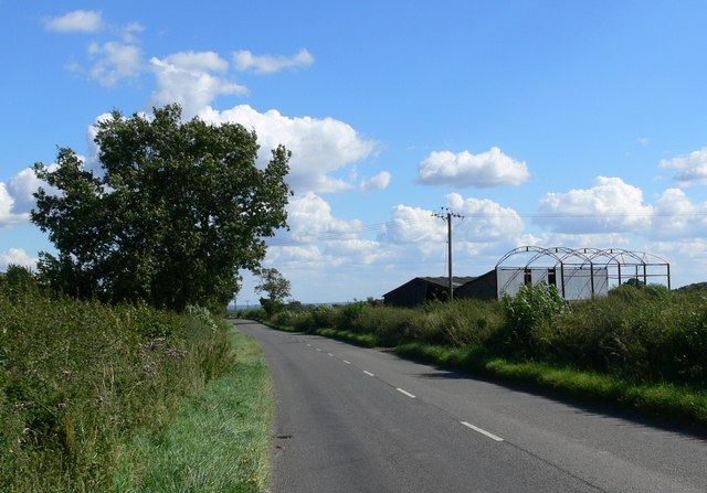 Ratby Lane south of Markfield