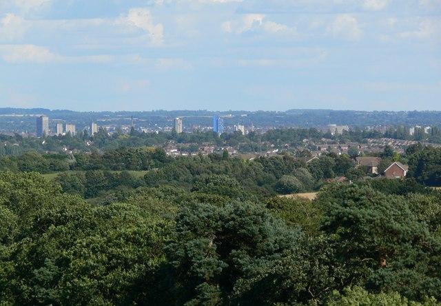 Leicester City Skyline