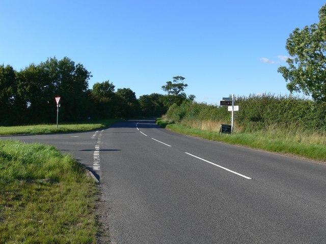 Markfield Lane near Thornton
