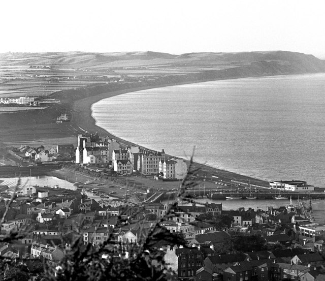 View of Ramsey from the Albert Tower