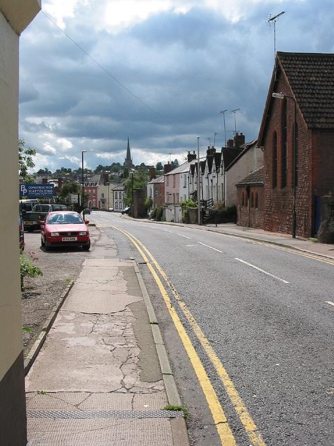 Over Ross Street, Ross-on-Wye