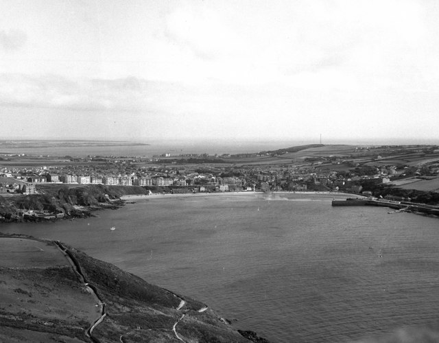 View of Port Erin, Isle of Man