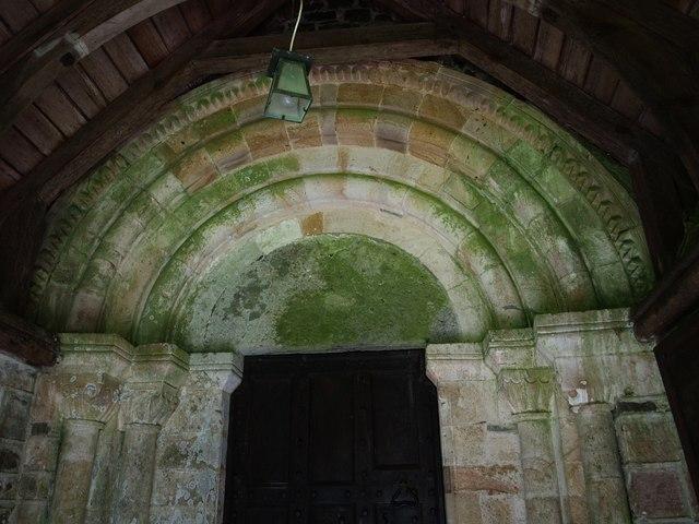 Doorway, St Peter's Church, Thornbury