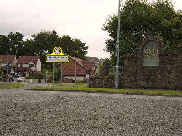Mains Estate, Milngavie