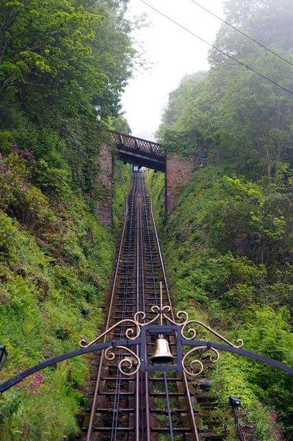 Funicular Rail-track