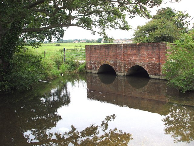 Bridge over the Meon Valley Canal