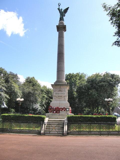 War Memorial - Mowbray Gardens Sunderland