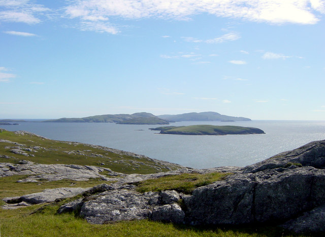 View to South from Bhatarsaigh (Vatersay)