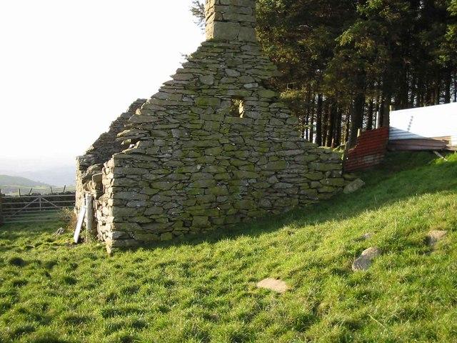 Bryn y Cyplau - East Wall