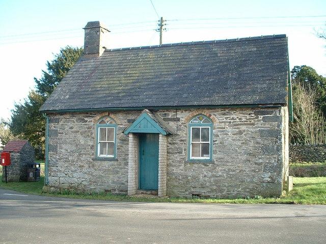 The old Chapel school