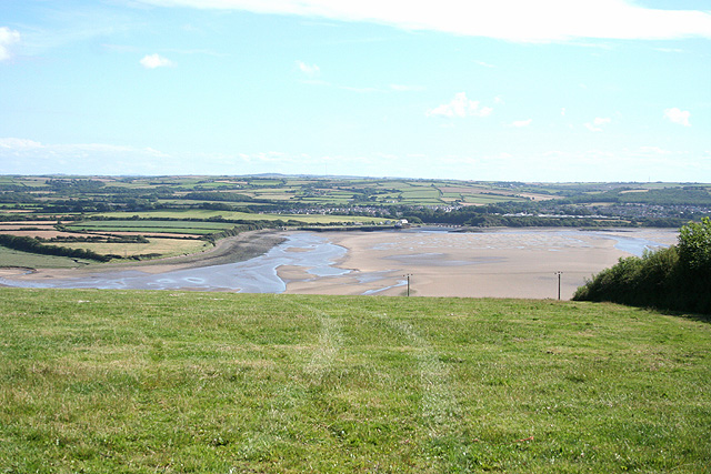 Heanton Punchardon: towards the Taw estuary