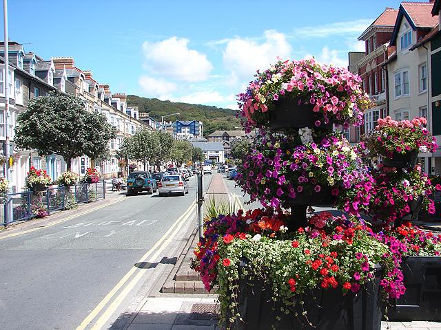 North Parade / Rhodfa'r Gogledd, Aberystwyth