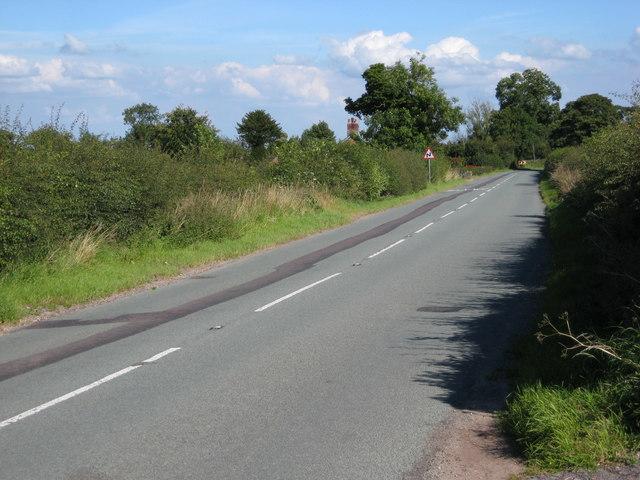 B5026 south of Sugnall