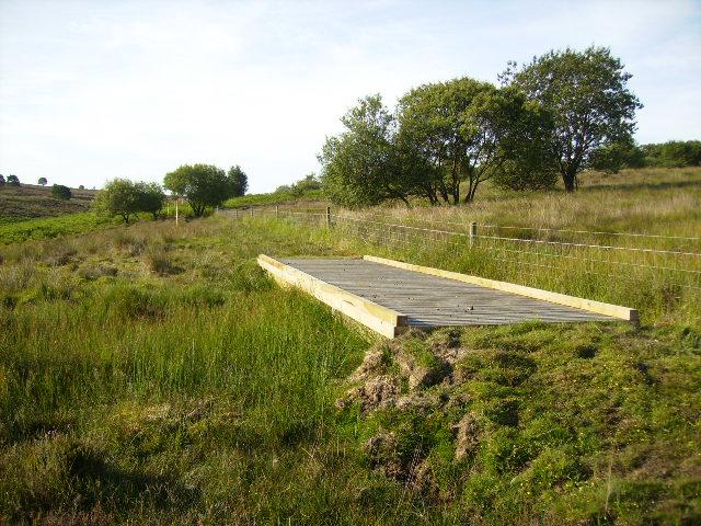 Permissive Bridleway near RAF Fylingdales