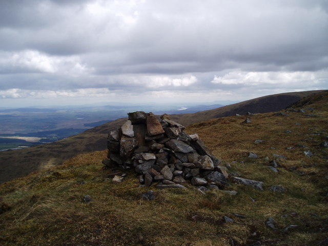 Cairn near Goat Craigs.