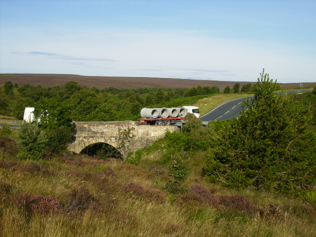 Ellerbeck Bridge on the A169 Pickering - Whitby Road