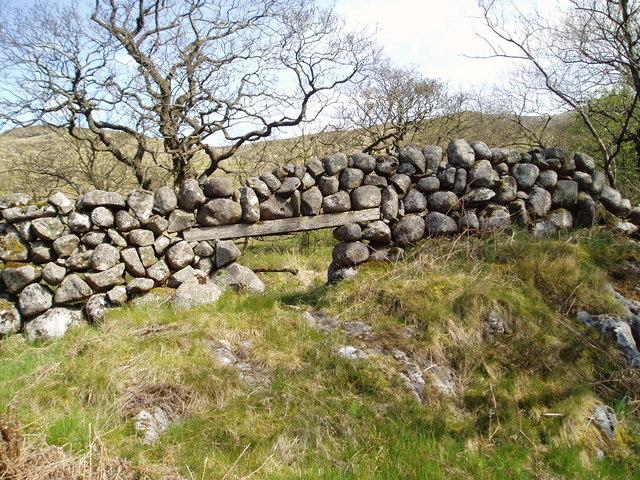 """""""Lunky Hole"""" near Glenhead."""