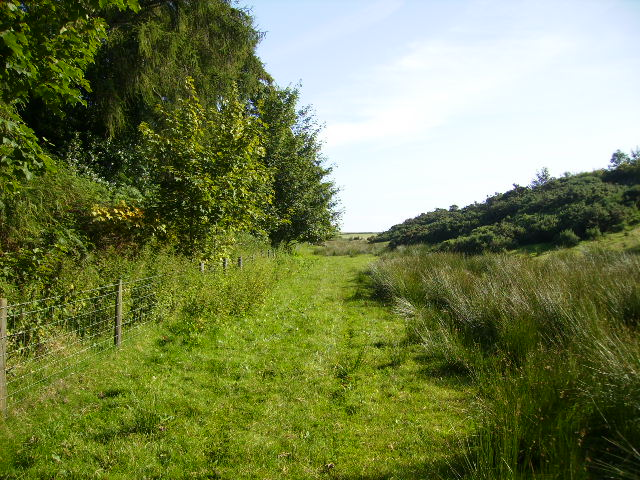 Footpath west of High Pastures Farm