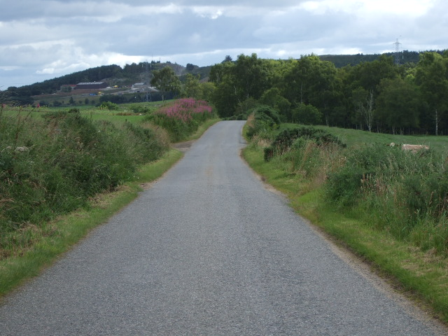 View towards Kinnernie Quarry