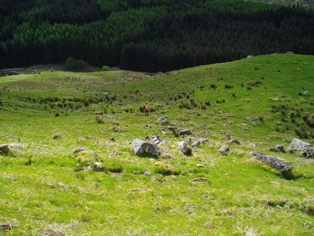 Southern Upland Way near Glenhead.
