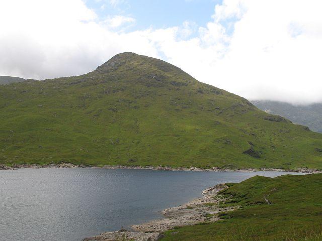 An t-Sail and Loch Quoich