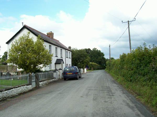 Road to Llandgadog