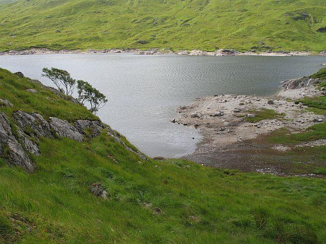 Beach on Loch Quoich