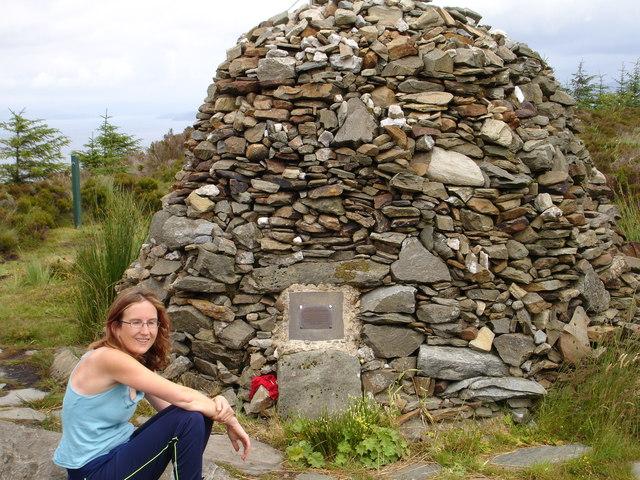 """the so called """"Millennium Cairn"""" near Tarbert"""
