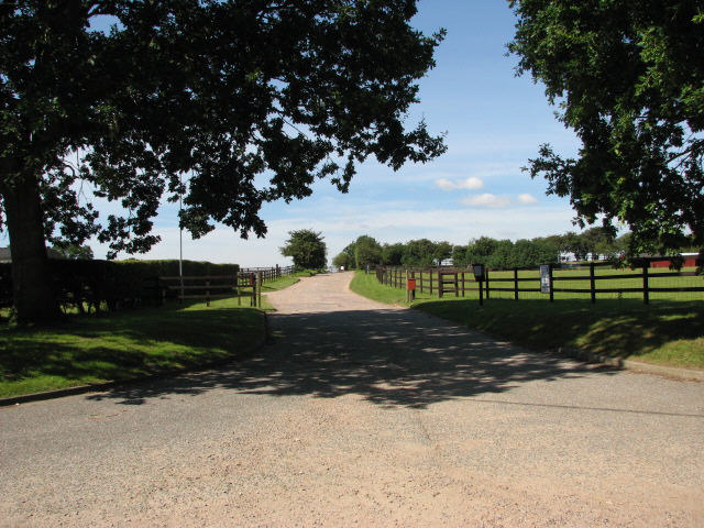 Entrance to Hillside Animal Sanctuary