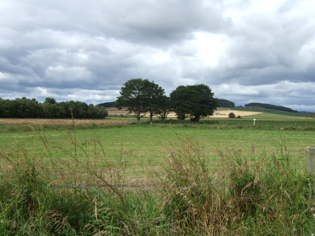 View towards Glack Hill