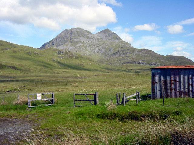 View towards Beinn Sgritheall June 2003